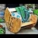"Градински мебели ""Направи си сам"" (Снимки):"