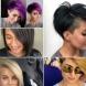 Прави прически с коси бретон 2020 - хармонична комбинация