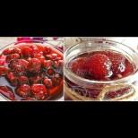Тази година и аз си направих ягодово сладко става без варене - не се разкашква, супер ароматно и много лесно: