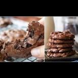 Размазващо вкусни двойно шоколадови бисквити без брашно - 100% удоволствие за шокоманиаци: