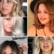 Прически със средна дължина за гъста коса