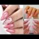 Розова феерия - 21 вълшебни и сладки маникюра с цвят за принцеси! (Снимки)