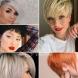 Стилни къси прически за гъста коса