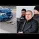 Жената на Коко Динев направи верижно меле в София, в колата е била и 1-годишната им  дъщеричка (Снимки):