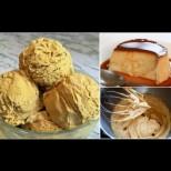 Уникален домашен крем-сладолед с вкус на крем карамел - нежен и безумно вкусен:
