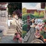 25 големи идеи за малкия балкон (Снимки):