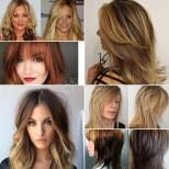 Модерни прически 2020 за тънка коса-Идеи