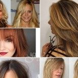 Прически 2020 за дълга тънка коса
