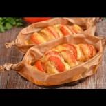Най-бързата вечеря: Пиле в пергамент - нежно месце, много разтопен кашкавал и сочен вкус:
