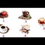 Изберете чаша кафе, в която бихте пили с удоволствие и ще ви покажем нещо
