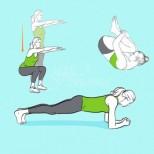 Златната петорка: 5 лесни упражнения, които стягат и извайват цялото тяло