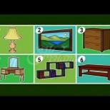 Изберете мебел и разберете какво мислят другите за вас и вашия дом
