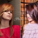 Грандиозни прически за обем на тънката и рядка коса - всякакви варианти (Снимки):
