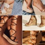 Летни обувки с платформа 2020