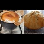Нямам хлебопекарна, но си правя фантастичен хляб в тенджера за половин час - има си и хрупкава коричка, и мека средичка: