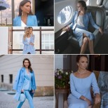 Сини костюми-Актуални стилове 2020