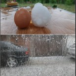 Градушка колкото яйце се изсипа снощи край София, днес чакаме още катаклизми: