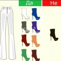 Наръчник за обличане- как да съчетаем подходящите обувки и панталон (снимки)