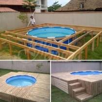 Как да си направим мини басейн в двора (снимки)