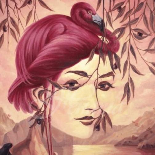 Фламиго или жена видяхте първо