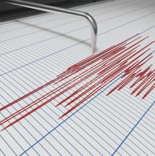 Земетресение разтърси България рано сутринта