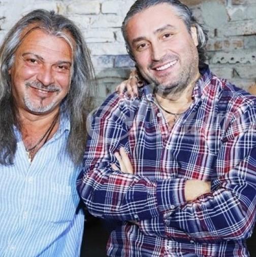 Вижте Маги Халваджиян и брат му преди 40 години - уникална ретро-снимка (Снимка):