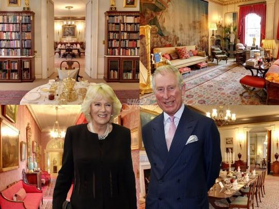 Красивият дворец на принц Чарлз и Камила (Снимки):