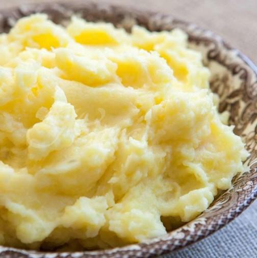 Как да си направим перфектното картофено пюре- тайната се крие в нещо съвсем просто