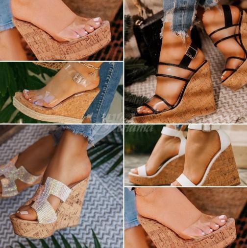Модният писък тази година-Летни обувки на платформа 2020-Невероятно красиви идеи