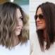 Летни прически за средна дължина на косата (Снимки):