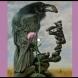 Какво виждате първо на картинката-Гарван или глава