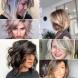 Прически за средна дължина на косата с бретон 2020 за жени на 40-50 години-Ефективни идеи