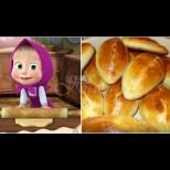 Пирожките на Маша - любимата рецепта на децата. Омитат се за нула време, топли-топли!