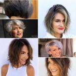 Стилни прически за обем на косата