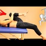 2 упражнения срещу схващане на седалищния нерв-Веднага се спасявате от болката!