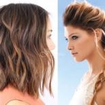 Прически за обем с УАУ-ефект за тънката и безжизнена коса (Снимки):