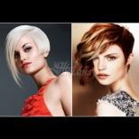 21 вълшебни фризури с дълъг бретон за късата коса - 100% женственост и стил (Снимки)