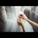 Вижте булчинската рокля, която всички обсъждат в мрежата - профилът на булката прегря от коментари (Снимки):