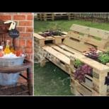 Супер идейки за градински мебели \