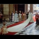 Дори в сватбената рокля на принцеса Даяна имало знаци, които сочели, че всичко ще завърши с трагедия