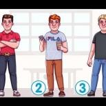 Кое от момчетата е богато и с възможности-Само едно от трите е