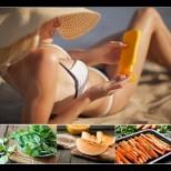 Диета за летен загар - 11 храни за перфектен шоколадов тен: