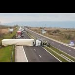 Нова жестока катастрофа блокира магистрала Тракия към морето (Снимки от местопроизшествието):