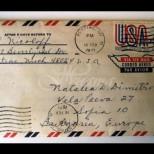 Писмо изпратено през 1971 година най-сетне пристигна в София