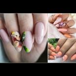 17 цветни и пеперудени маникюра за ярко лятно вдъхновение - наситени цветове, нежни детайли, перфектна хармония (Снимки):