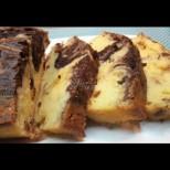 Сочен мраморен кекс с меден сироп - перфектната сладка хапка с триумфален вкус: