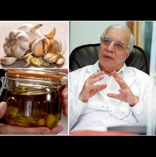 Златният лек на проф.Чирков с 10 глави чесън - пази от инфаркт и високо кръвно, удължава живота: