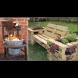 22 оригинални идеи за еко-мебели на вилата и в двора - много красота от нищото (Снимки):