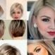 Прически за къса и средна коса