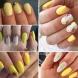 15 идеи за ярко жълт маникюр-Усмивката на лятото